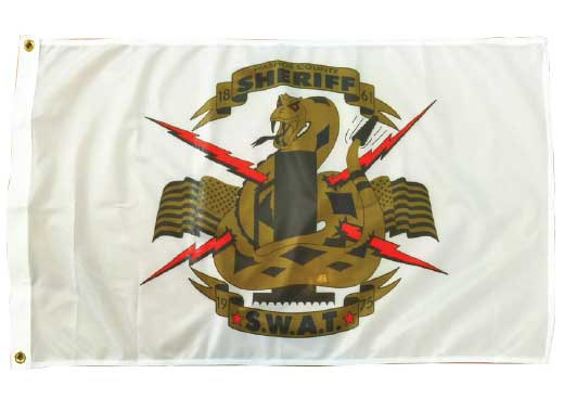 custom rodeo military flag
