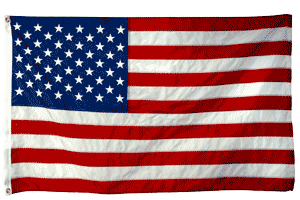 US Flag for Rodeo